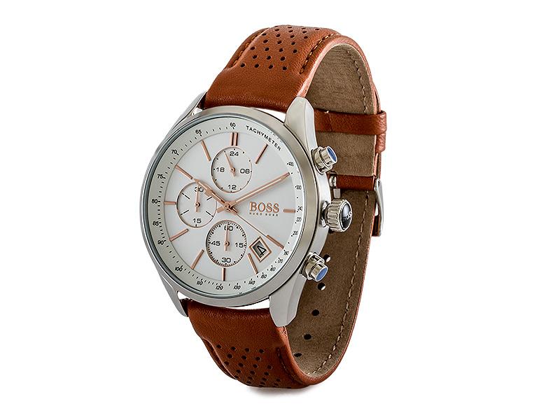 0cac16cb48e097 Hugo Boss HB 1513475 Grand Prix Chronograph Herrenuhr 1513475   eBay